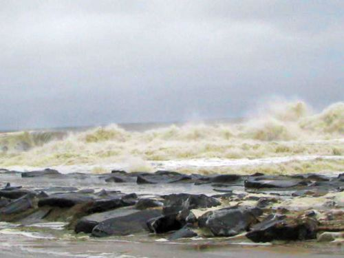 hurricane Irene aftermath, Ocean Grove, NJ