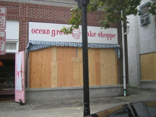 Ocean Grove bakery, Hurrican Irene, Ocean Grove, NJ