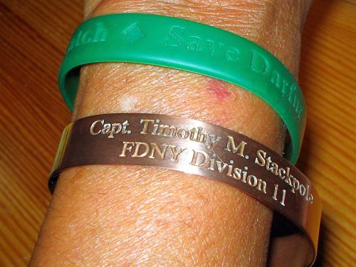 Timmy Stackpole, 9-11, memorial bracelet