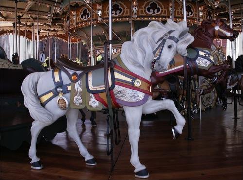 Brooklyn NY, Dumbo park, Jane's carousel