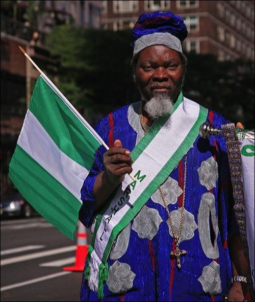 Nigerian parade, NYC