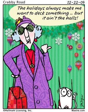 Maxine, Christmas humor