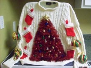 BRSG, Christmas Ugly sweater, Bridgette Raes