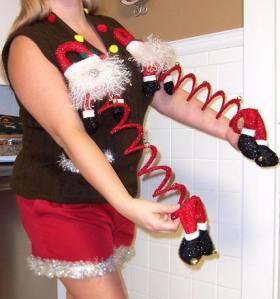 BRSG, ugly Christmas sweater, Bridgette Raes,