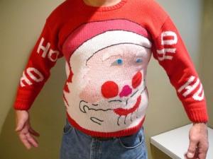 BRSG, Bridgette Raes, Christmas ugly sweater,