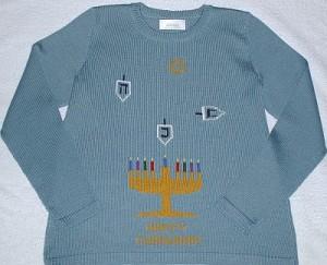 Hanukkah Ugly sweater, BRSG, Bridgette Raes