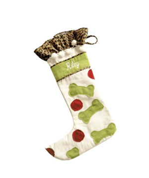 pet stocking, doggie stocking