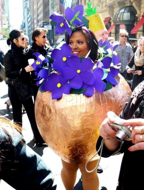 easter egg, easter parade nyc 2012, violets