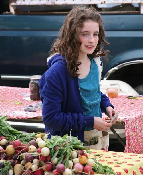 Union Square Greenmarket, radishes,