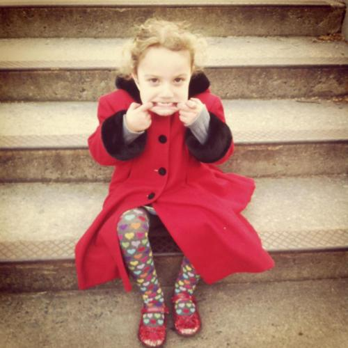 Finley Ray, Finny, red shoes
