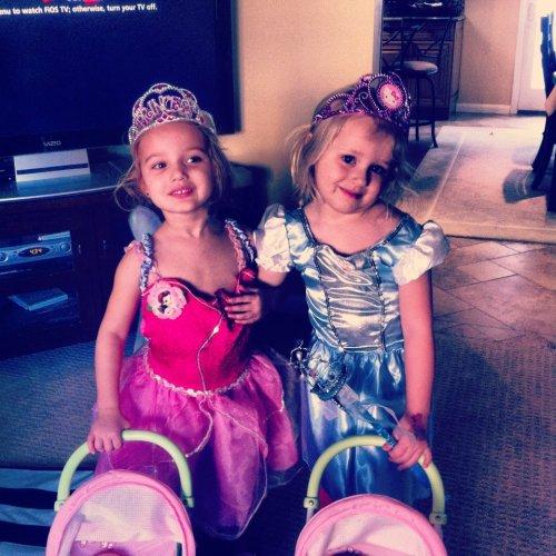 Princesses, Finley, Stella, BFF
