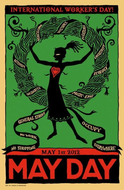 OWS, Occupy Wall Street, International Worker's Day, May Day, protest