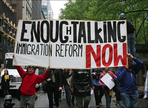 Immigration, New York city, OWS, occupy wall street