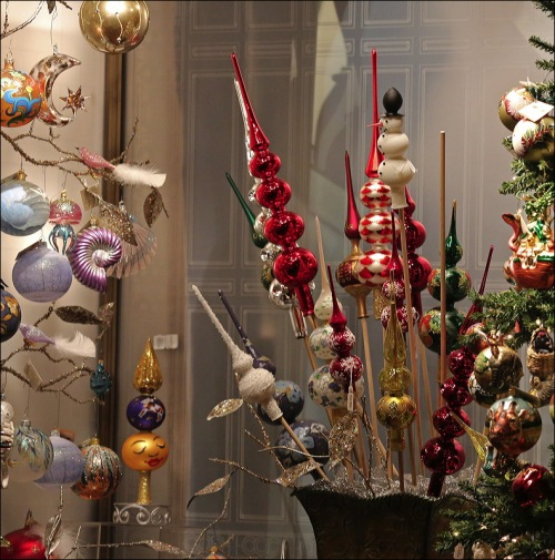 Christmas ornaments, Christmas fair, Bryant Park