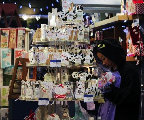 Bryant Park, Christmas booths, Christmas fair