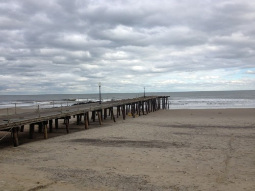 Ocean Grove NJ, fishing pier, fishing shack