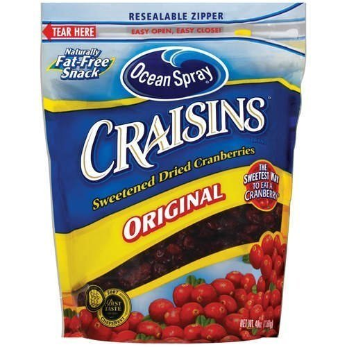 Ocean Spray brand dried cranberries