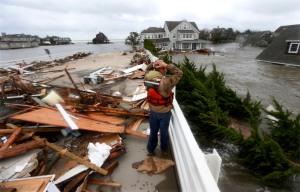 Hurricane Sandy slammed Mantoloking NJ