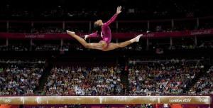 US gymnast Gabrielle Douglas Gold Medal winner
