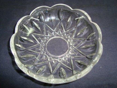 Pressed Glass Bobeche