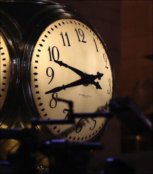 """""""I'm late, I'm late..."""""""