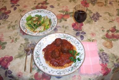 Mama Mia, Spaghetti and Meaballs