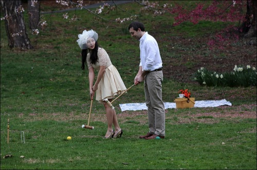 One Must Always Dress For Croquet