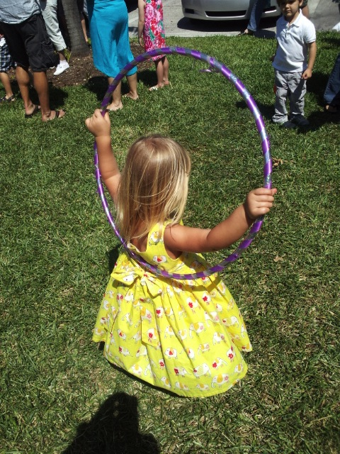 Francesca and the Hula Hoop