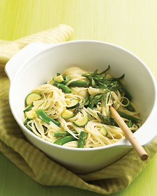 Linguine with Spring Vegetables