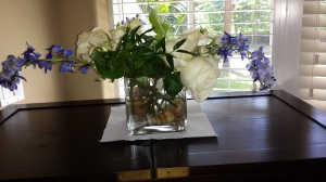 White Roses and Blue Bells