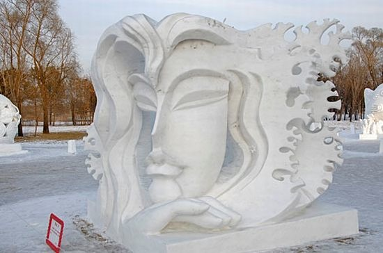 Snow and Ice Sculpture - Skill, Scope and Size - Fab Foto Friday (2/6)