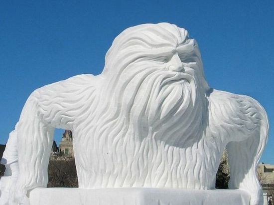 Snow and Ice Sculpture - Skill, Scope and Size - Fab Foto Friday (6/6)