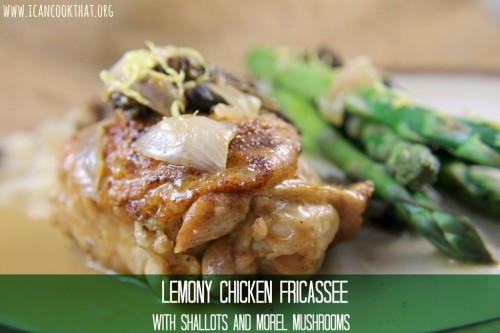 Lemony Chicken Fricasse