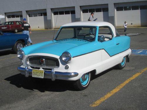 So Cute at a Vintage Car Show