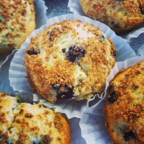 House-made Blueberry Muffins!