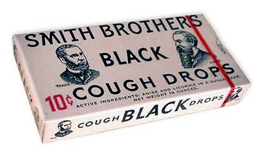 Smith Brothers Black Cough Drops