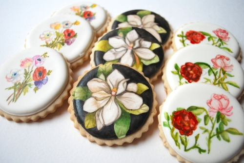Artwork On A Cookie