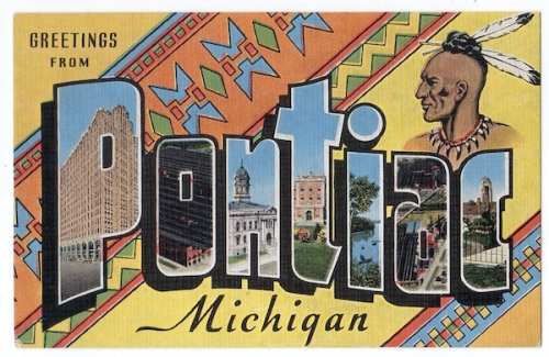 The City of Pontiac Michigan Takes Its Name From the Native American Tribe Who Lived There Before the Arrival of the Europeans