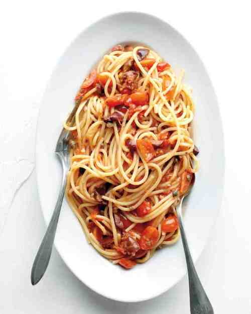 Classic Spaghetti Puttanesca