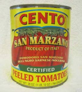 CENTO San Marzano Tomatoes - Certified!