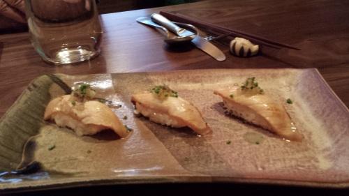 Sea Trout Sushi