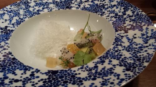 Mosaic Edible Art Dessert