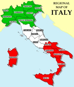 The Provinces of Italy