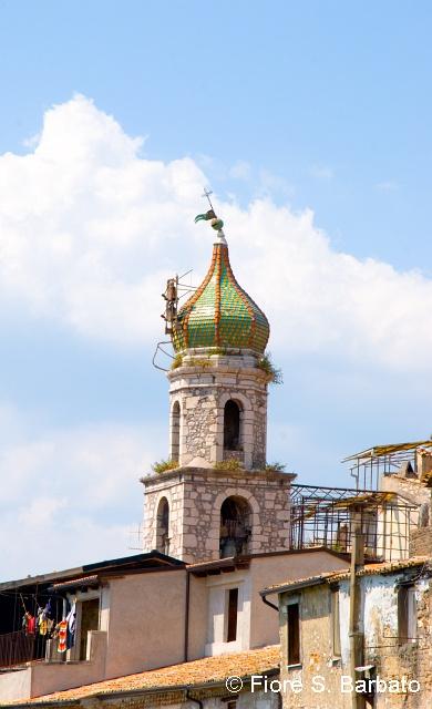 Guardia_Sanframondi_-_campanile_Annunciata